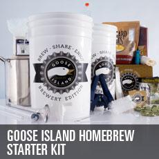 The Goose Island Starter Kit